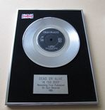 DEAD OR ALIVE - IN TOO DEEP PLATINUM Single Presentation Disc